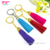 Superb New Suede Leather Tassel Keychain Colorful PU Leather Fringe Key Ring For Handbag Purse