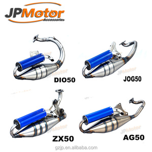 JPMotor - V8 Hand Make DIO50 AF18 AF28 JOG50 AG50 ZX50 2-STROKE Performance  Exhaust Pipe