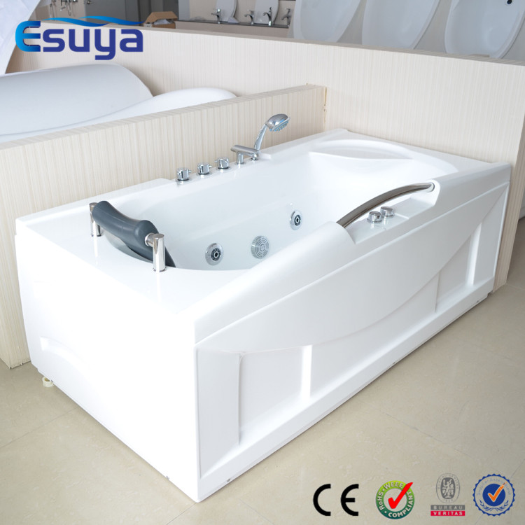 Massage bathtub water jets tub in shanghai acrylic bathtub for Best acrylic bathtub to buy