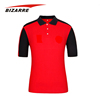 Multicolor Custom Tailored 100% Polyester Quick Dry Polo Shirts