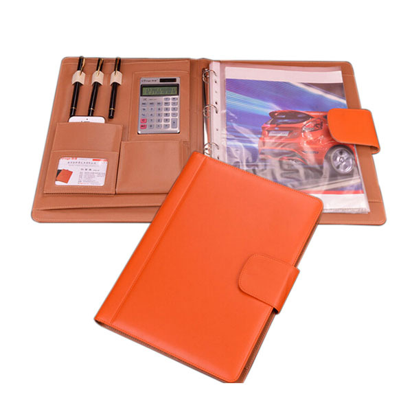 Professional A4 Leather Folder File Executive Portfolio