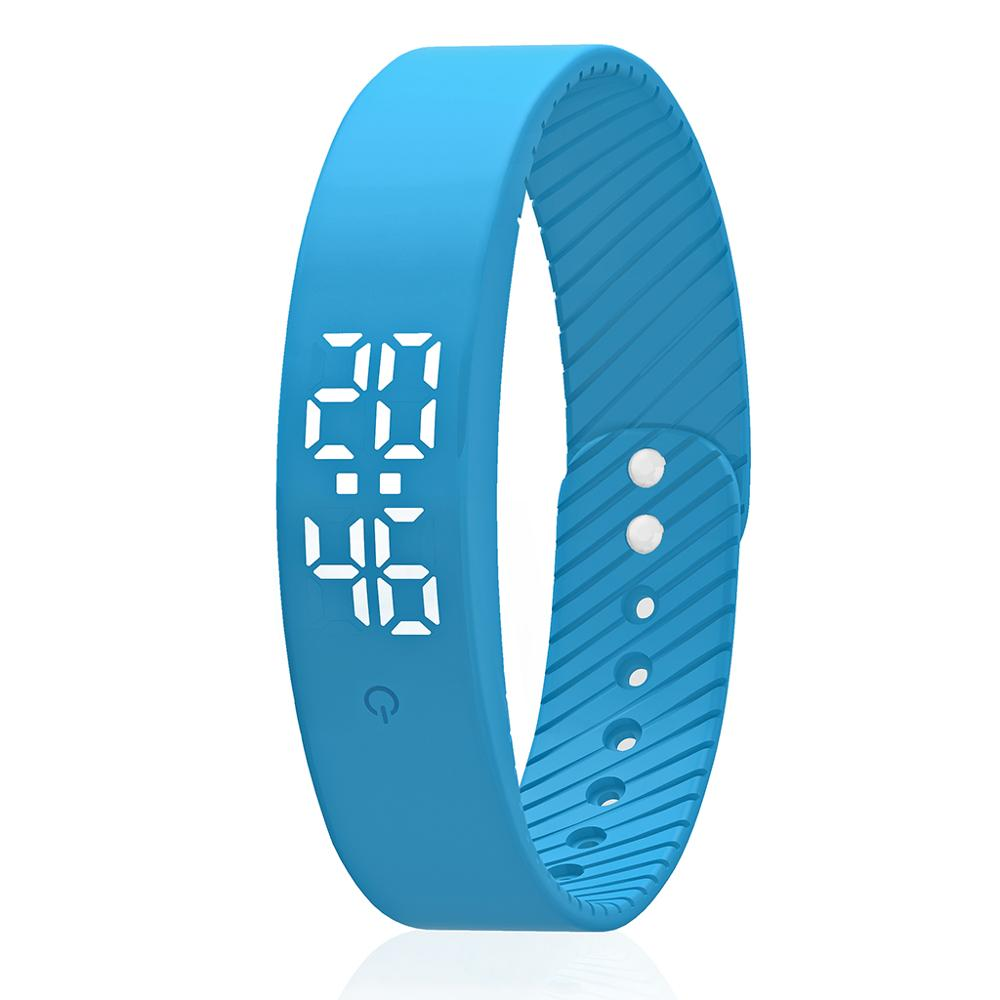 CE Fitness Activity Tracker Silicone Sport Smart Watch