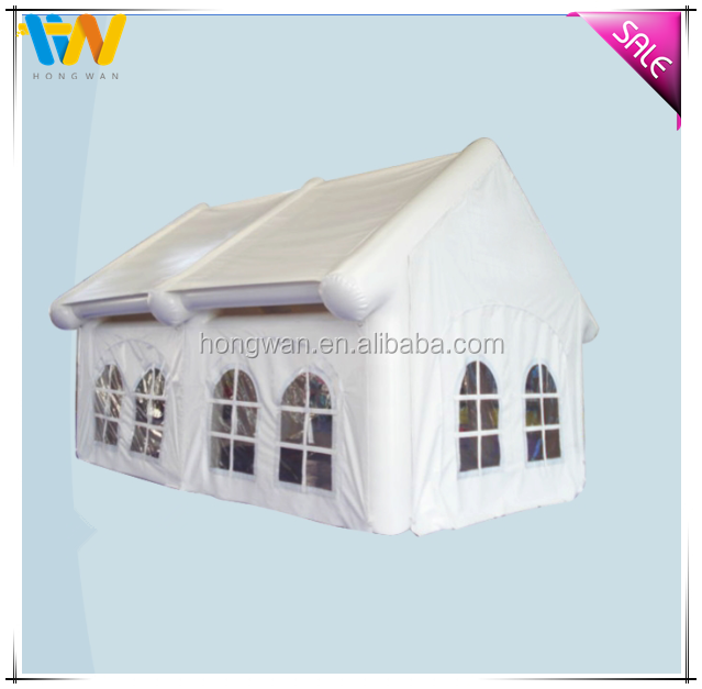 Reasonable price white house sealed inflatable tent