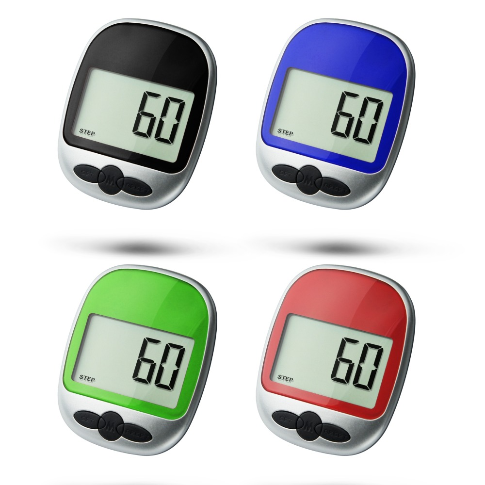Brand New Fashion Multifunction Electronic Pedometer Second Generation Large Screen
