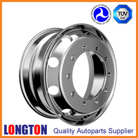 Forged Aluminum Alloy Wheel 22.5x8.25 Disc Type A Truck Wheel Rim