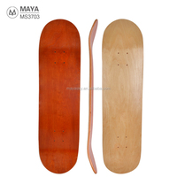 Blank Skate board deck 7 layers level A Maple customized cheap Skateboard Decks