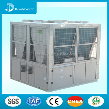 60tr 60ton Scroll Type Air Cooled Chiller Unit