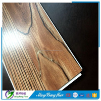 cheapest pvc 3D wood pattern Vinyl sheet floor