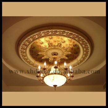 Luxury Decorative Ceiling Medallion Nice Match To Light