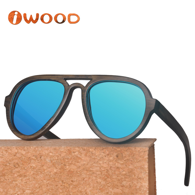 Big discount Cat 3 UV400 bamboo Wooden polarized Sunglasses Wholesale in china