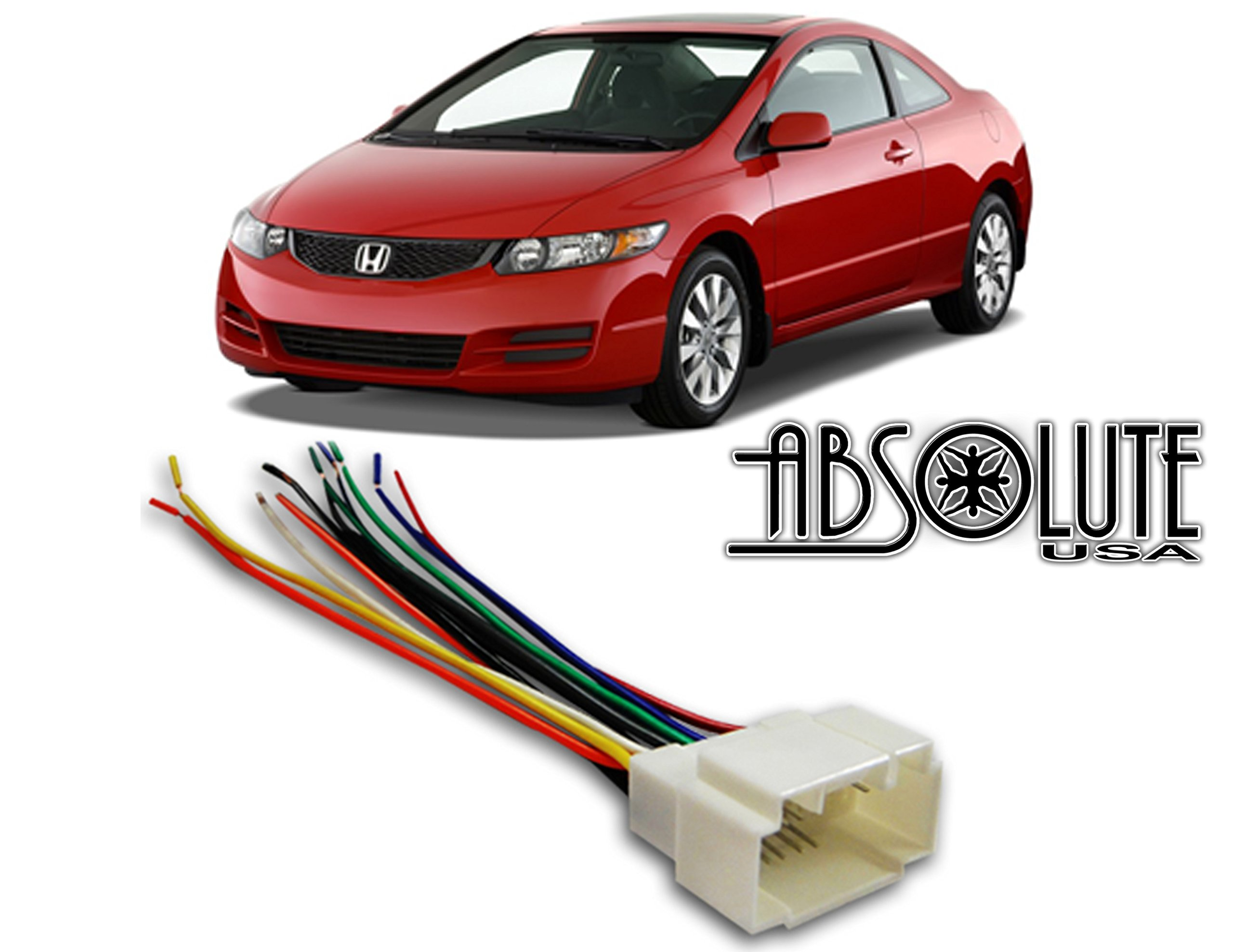 Cheap 4 Wire Harness Find Deals On Line At Alibabacom Ford 1210 Wiring Get Quotations Stereo Honda Civic 01 02 03 04 2004 Aftermarket Radio Installation