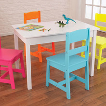 high quality preschool furniture, eco-friendly wooden kids table and chairs