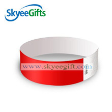 New Cheaper one time use waterproof christmas tyvek wristbands