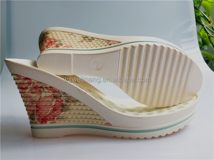 shoe making supplies PU soles women for high wedge shoes