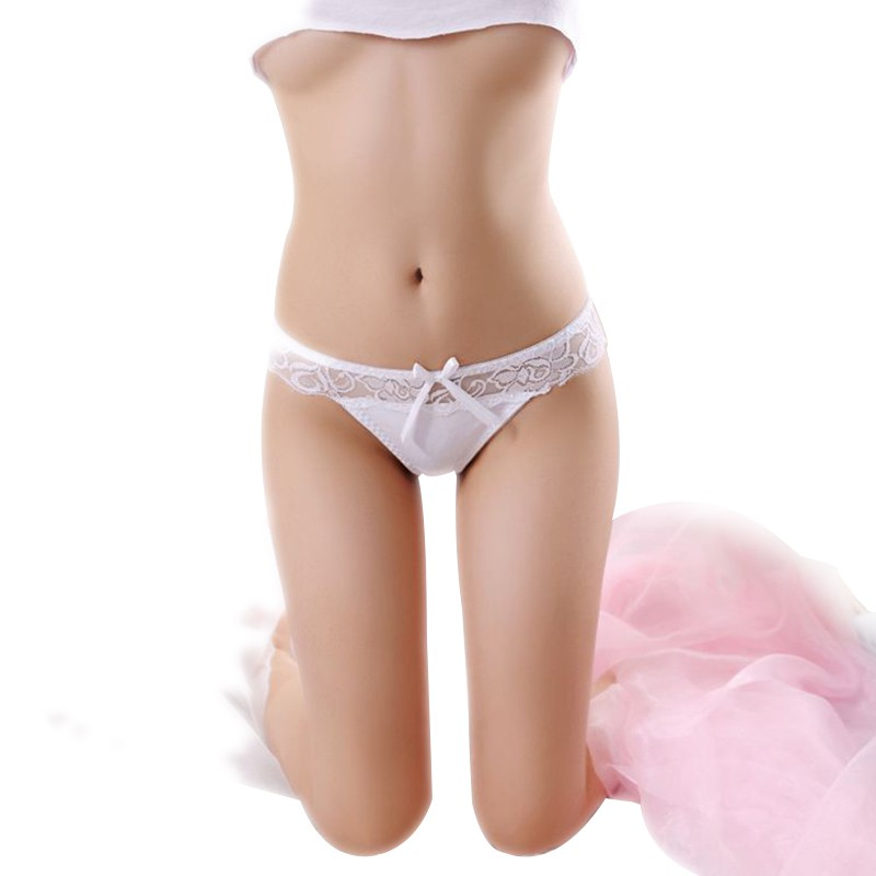3ba49e0e3 Sexy Women s Lace Transparent Briefs Seamless Panties V String Lingerie  Panty Underwear Girls Thongs Knickers Hot P2
