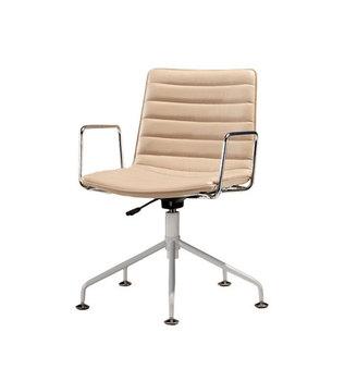 Mige Furniture Swivel Office Chair No Wheels
