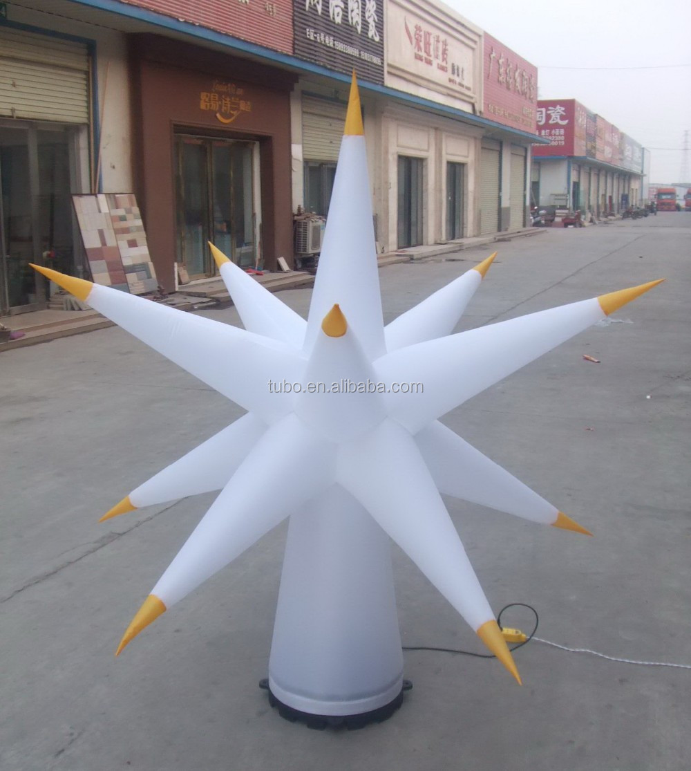 3m hot sale wonderful inflatableLED cone, inflatable lighting column, inflatable lighting pillar for event party decoration