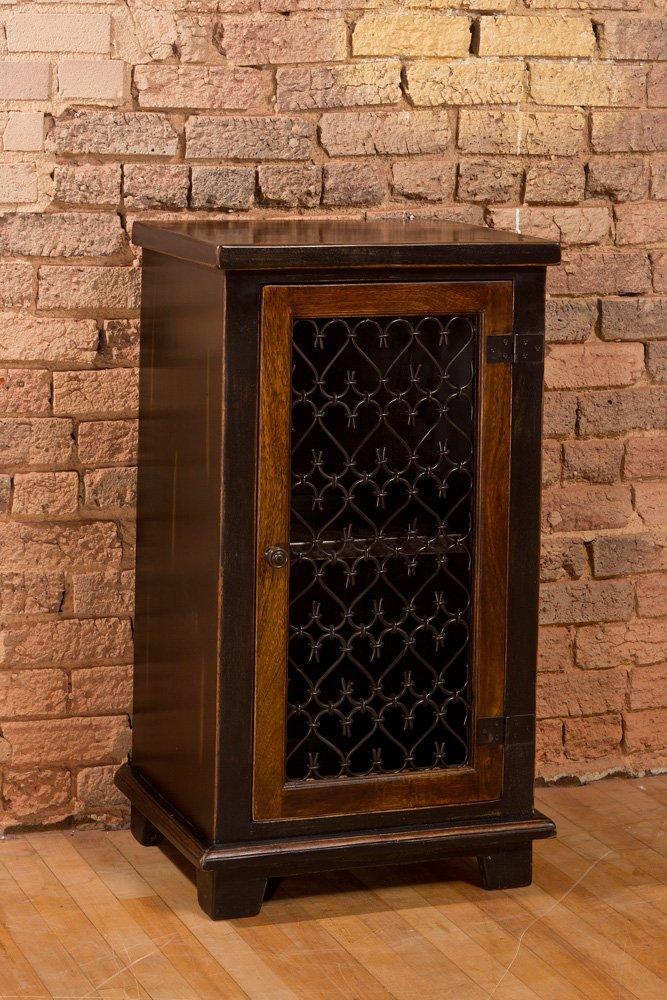 Get Quotations · Hillsdale Gibbins Cabinet With Metal Insert Door