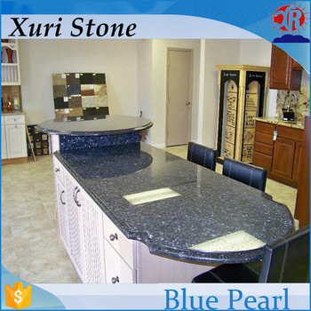 Blue Pearl Laminate Kitchen Countertop Modular Granite