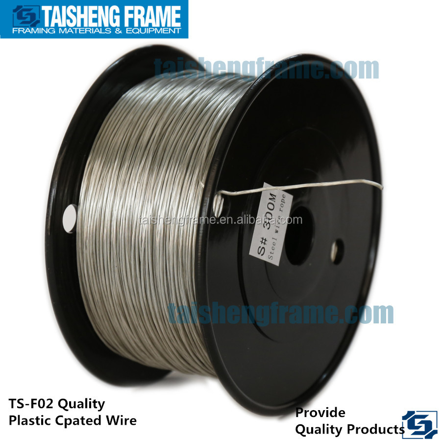 tsf02 plastic covered semi stiff wire with neat crimp ferrules 1mm 1.5mm 2mm