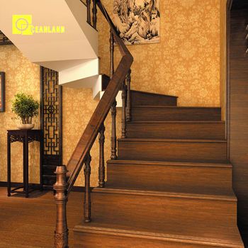 Hot Sale Wooden Look Porcelain Floor Tiles For Stairs