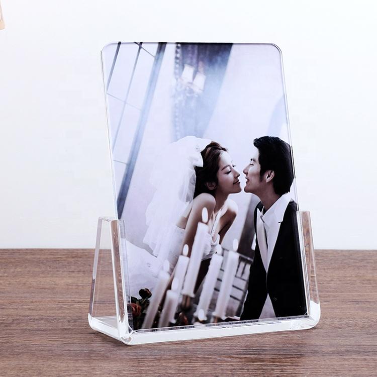 whosale wedding decorate elegant acrylic photo frame