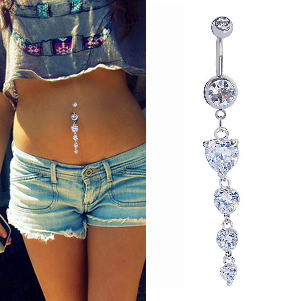 Cheap Long Dangle Belly Rings Find Long Dangle Belly Rings Deals On