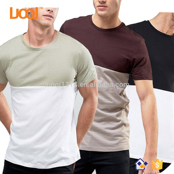 China Supplier Mens Clothing Manufacturers China Plain t-shirts Wholesale  Man t shirt In Bulk, View t shirts in bulk, LuoQi, LUOQI Product Details