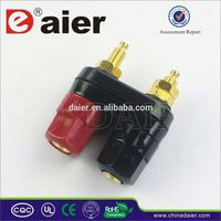 Daier High quality banana jack binding post male female wire connector
