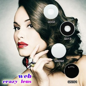 Full Of Charming Cheap Black Contacts Big Eyes Korea Color Contact Lens Vampire Crazy contacts