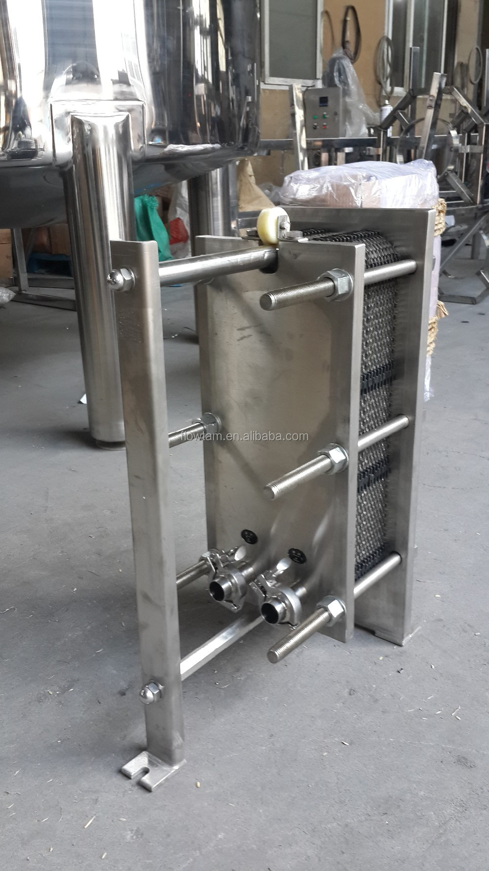 Heat Exchanger For Milk Pasteurization, Heat Exchanger For Milk ...
