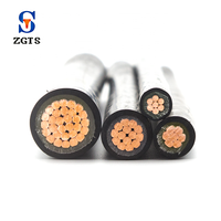 YJV 35mm power electric cable wire low voltage cable supplier