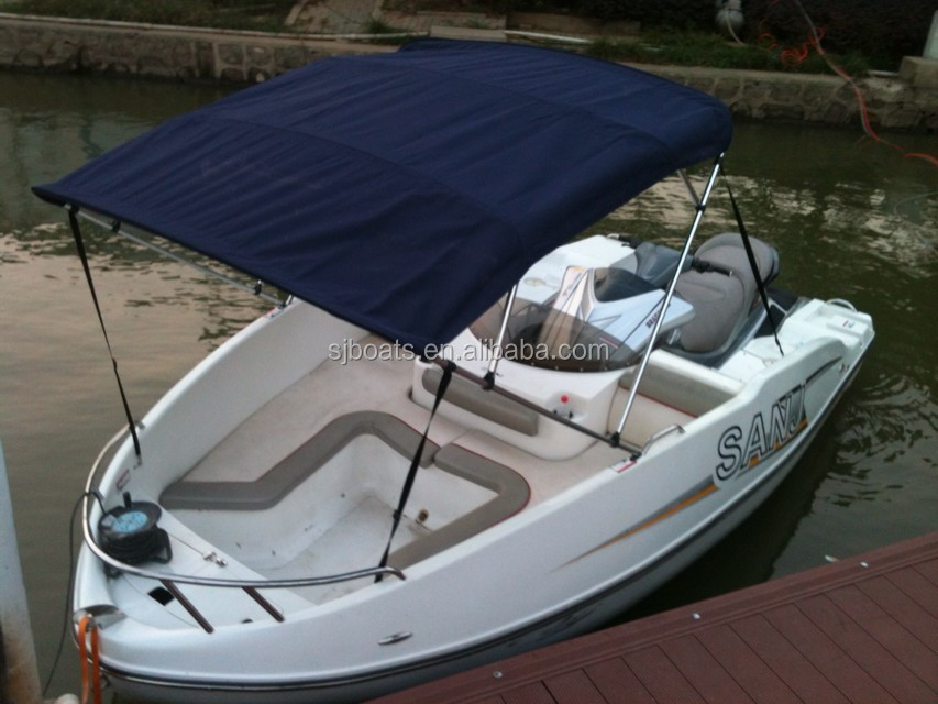 Ce Approved Best Price Difference Color Fiberglass Jet Boat With ...