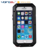 Luxury Case for iPhone 7/7plus Metal Bumper+Silicone Back Cover Aluminum Waterproof Case