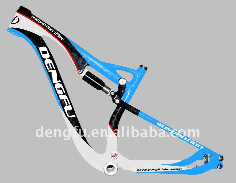 29er Full Suspension Mtb Mountain Bike Frame Fm036 - Buy 29er Bike ...