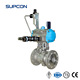1/2, 8 inch normal temperature stainless steel floating ball valve SN5