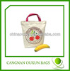 Fashion design canvas folding shopping bag