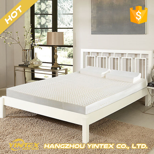 Bedding Necessity home hotel bed use cheap high density thick memory foam mattress topper