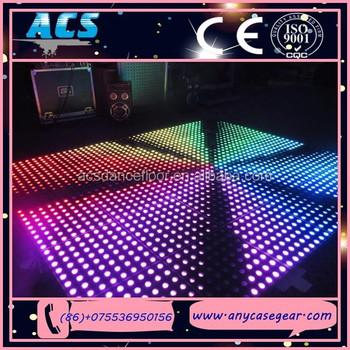 Nightclub Tempered Glass P62 5 Rgb Used Led Portable Dance