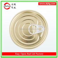 China Dongguan Customize Newest Full Aperture Easy Open Tin Can Cap 603#