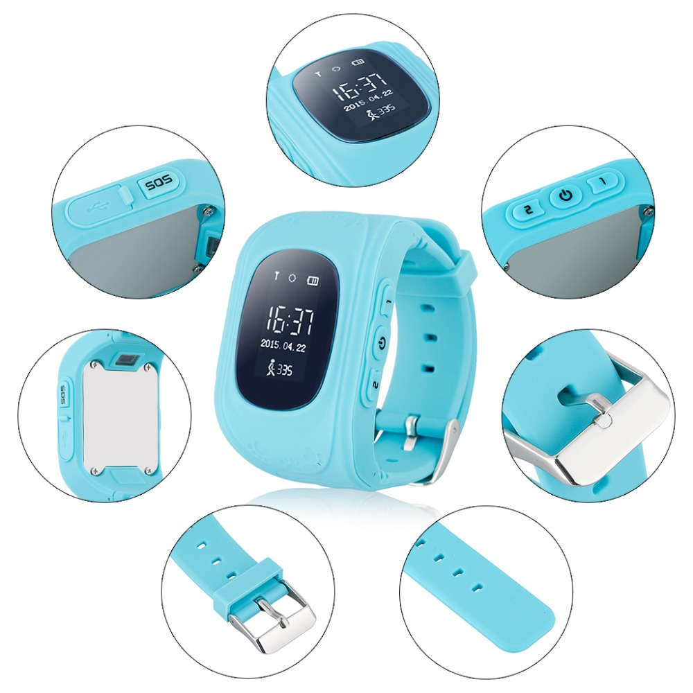 China Children Smart watch phone Q50 Kids Tracking GPS watch