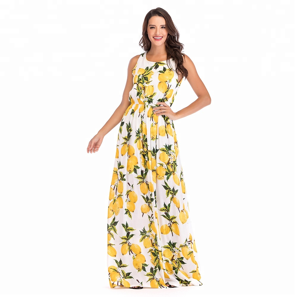hot selling shopity america women long maxi beach dress