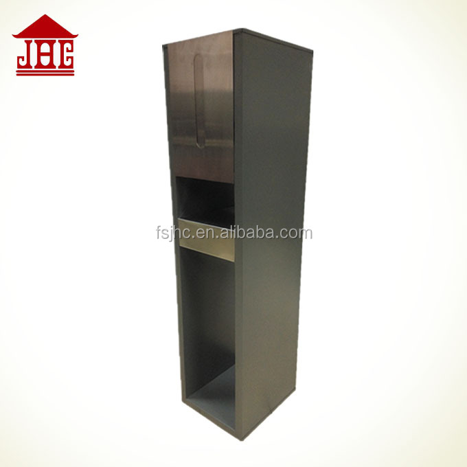 outdoor metal parcel drop box/ steel city parcel mailbox/ wholesale lock standing mailbox