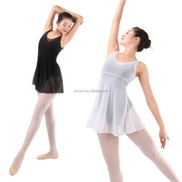 Adult Girls Lyrical Ballet Dance Mesh Dress