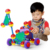 Amazon Hot Sales 164PCS Children IQ Builder Building Blocks Space Ball Toys