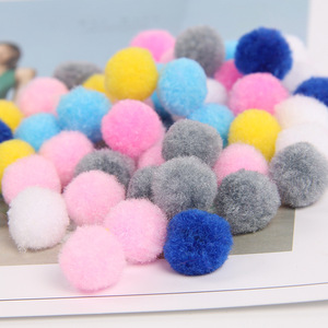 1cm-5cm Colorful Craft Happy Birthday Gift Pom Poms For Kids DIY