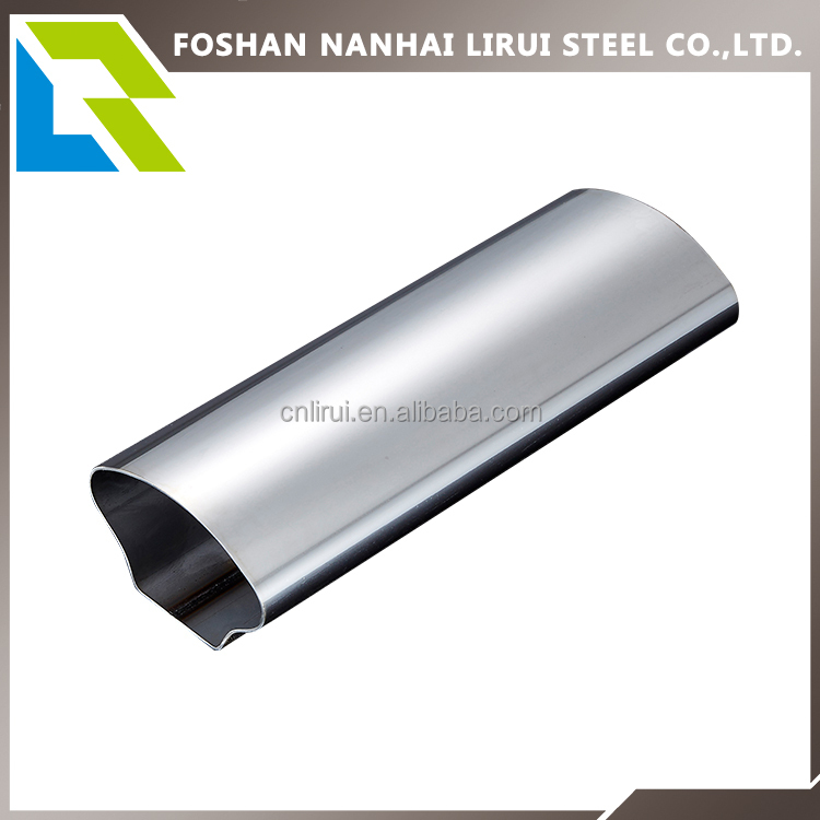 201 202 304 316 plain polished welded stainless steel pipe, stainless steel tube for handrail and decoration