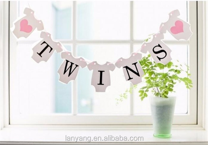 It/'s a Girl//Baby Shower Bunting Party Banner Garland Photo Props Decor TP