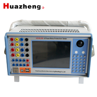 Huazheng relay testing machine good price relay test set 6 phase protection relay tester