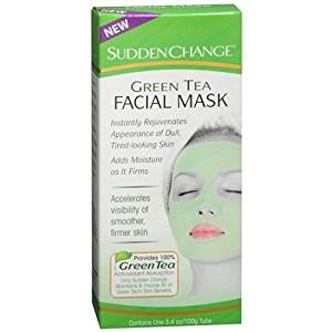 Sudden Change Green Tea Facial Mask, 3.4 Oz Retinol Advanced Brightening Night Cream